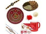 Auspicious Diamond Rakhi Gift Hamper