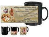 Auspicious Rakshabandhan Black Mug