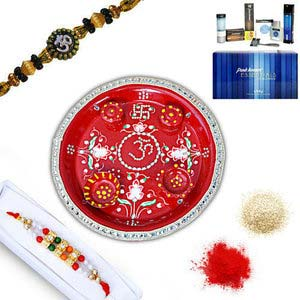 rakhi sg beads rakhi in premium box 27007