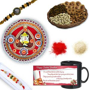 rakhi sg beads rakhi in premium box 27030