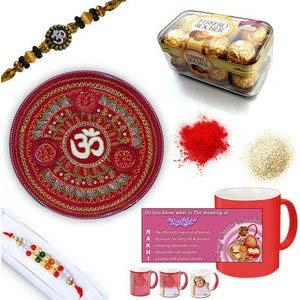 rakhi sg beads rakhi in premium box 27049