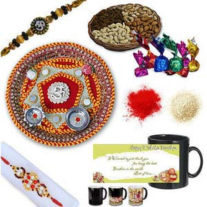 rakhi sg colorful diamond and beads rakhi 27039