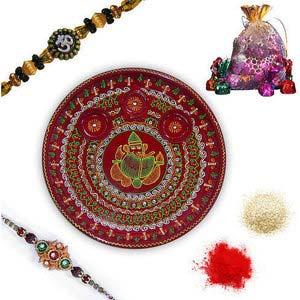 rakhi sg designer beads rakhi 27017