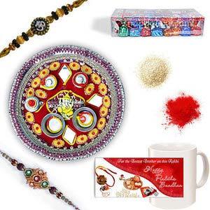 rakhi sg designer beads rakhi 27018