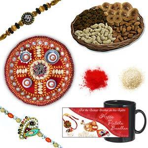 rakhi sg designer beads rakhi 27026