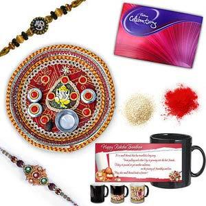 rakhi sg designer beads rakhi 27038