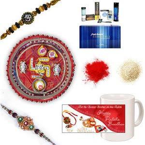 rakhi sg designer beads rakhi 27061