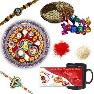 rakhi sg designer beads rakhi 27069