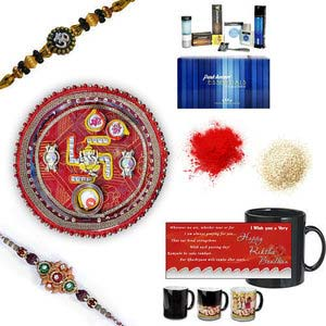 rakhi sg designer beads rakhi 27078