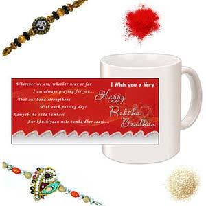 rakhi sg designer beads rakhi 27108