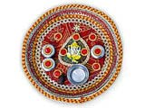 Designer Ganesha Pooja Thali with Small Coconut