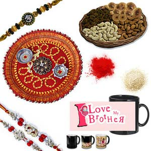 rakhi sg diamond and beads rakhi 27037