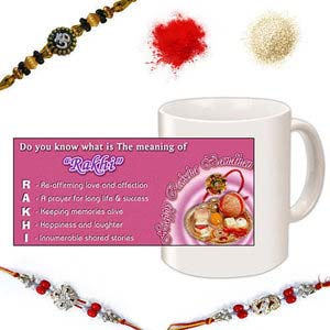 rakhi sg diamond and beads rakhi 27114
