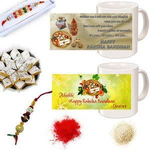 rakhi sg diamond and beads rakhi in premium box with lumba for bhabhi 27149
