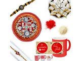 Diamond Chandan Rakhi Gift Hamper