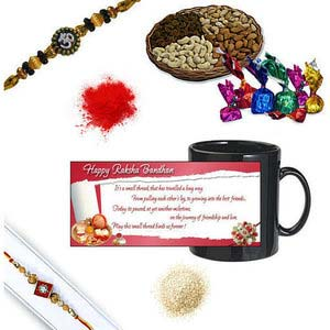 rakhi sg diamond chandan rakhi 27099