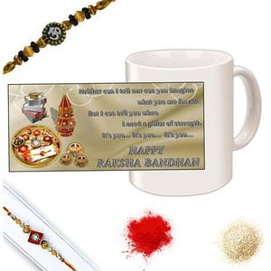 rakhi sg diamond chandan rakhi 27109