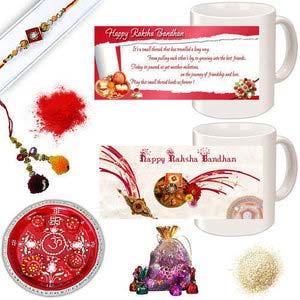 rakhi sg diamond chandan rakhi with lumba for bhabhi 27156