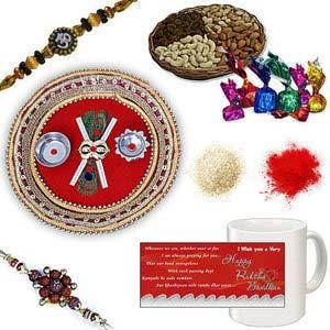 rakhi sg divine rudraksh rakhi 27019