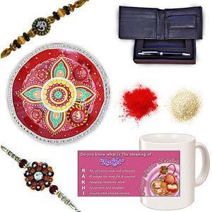 rakhi sg divine rudraksh rakhi 27025