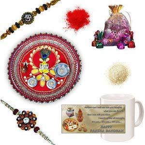 rakhi sg divine rudraksh rakhi 27063