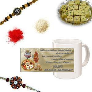 rakhi sg divine rudraksh rakhi 27089