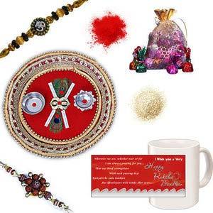 rakhi sg divine rudraksh rakhi 27126