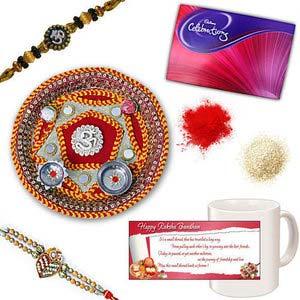 rakhi sg exclusive chandan rakhi 27022