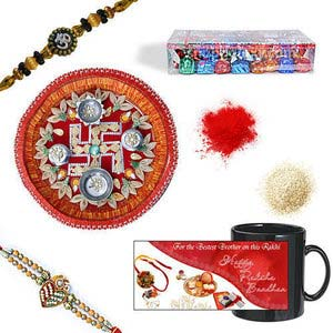 rakhi sg exclusive chandan rakhi 27077
