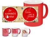 For a Wonderful Brother Red Magic Mug