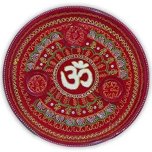 rakhi sg om hand painted rakhi thali 22236
