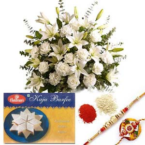 rakshabandhan arrangement with rakhi rxp53