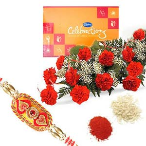 rakshabandhan celebration with carnation rxp17