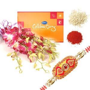 rakshabandhan celebration with orchids rxp16