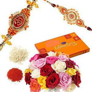 rakshabandhan mix color roses rxp22