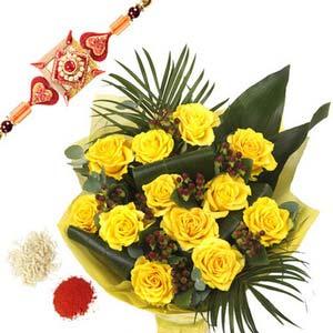 rakshabandhan rakhi rose elegent rxp54