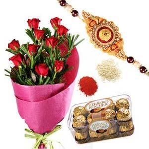 rakshabandhan rakhi sweetness rxp49