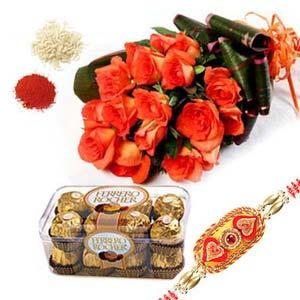 rakshabandhan roses and ferrero rocher rxp7
