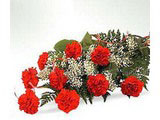 Bunch full of love, Red Carnations