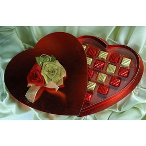 red hot valentine premium chocolates