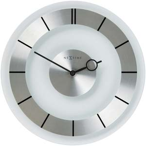 retro designer clock from nextime 2790