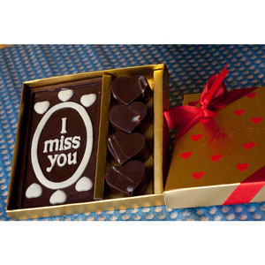 romantic i miss you premium chocolates