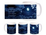 Romantic Moon Earth Mug