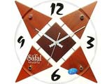 Brown Quartz Wall Clock