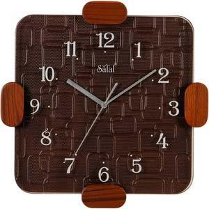 safal brown wall clock 1082