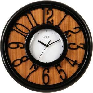 safal multicolor round wall clock 1078