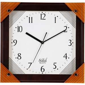 safal multicolor square wall clock 1061