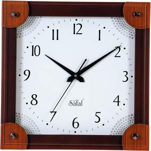 safal multicolor square wall clock 1062