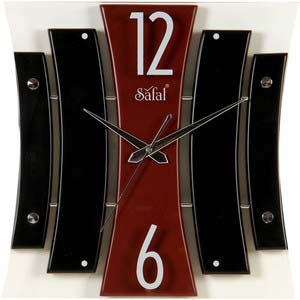 safal multicolor wall clock 1087