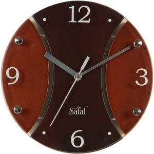 safal multicolor wall clock 3239
